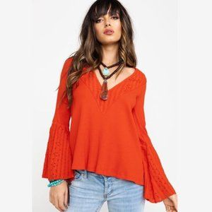 FREE PEOPLE parisian nights top✨M